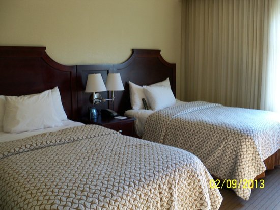 إمباسي سويتس تامبا داونتاون: Double bedded room