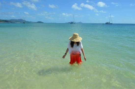 Whitehaven Beach: Clear water