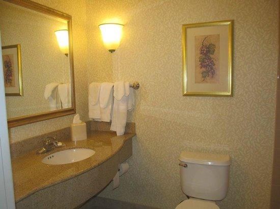 Hilton Garden Inn Napa : bathroom