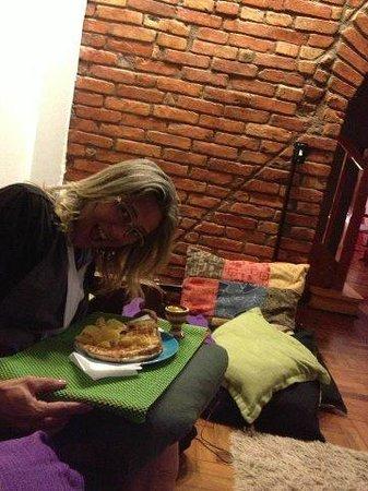 Uvaia Hostel: Lanchinho da noite