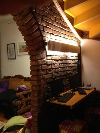 Uvaia Hostel: lan aconchegante. Espaço bem aproveitado