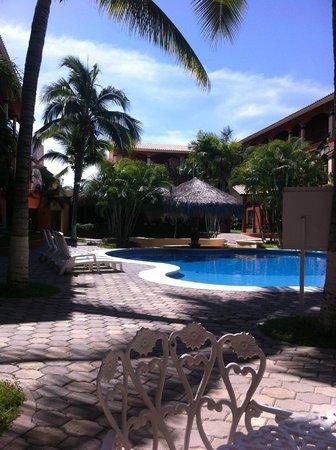 Estancia Real Los Cabos: pool courtyard