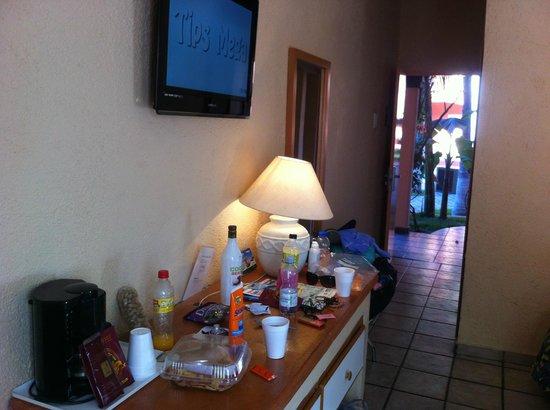 Estancia Real Los Cabos: our messy room