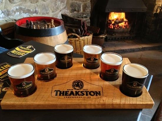 Theakston Brewery: all for me!!!