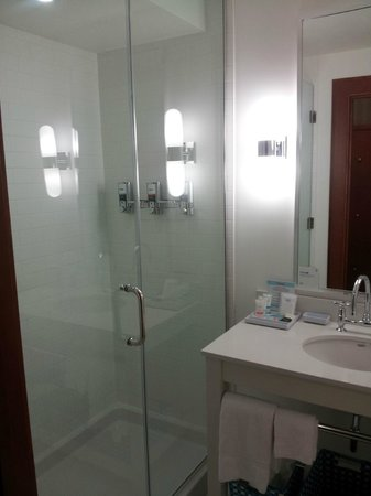 Four Points by Sheraton Saskatoon: shower