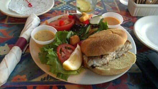 Crab's Claw: grouper sandwich