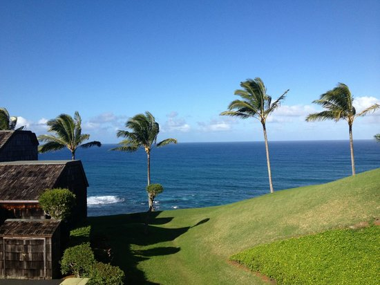 Sealodge at Princeville: View from the lanai