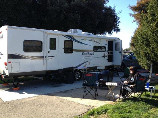 Flying Flags RV Resort & Campground: Super premium site #30