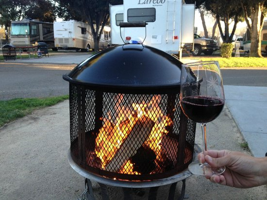 Flying Flags RV Resort & Campground : Super premium firepit