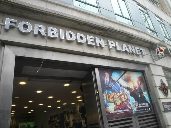 Photo of Tourist Attraction Forbidden Planet at 179 Shaftesbury Avenue, London WC2H 8JR, United Kingdom