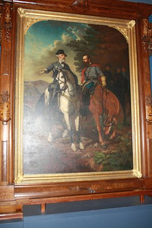 The White House and Museum of the Confederacy: Last portrait of General Lee and Stonewall Jackson.