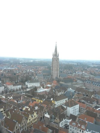 Bariseele: A view of Brugge from the Belfry