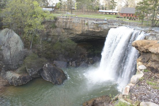 The Falls Picture Of Noccalula Falls Park Amp Campground