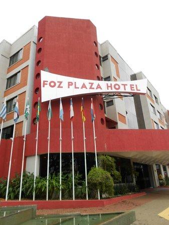Foz Plaza Hotel: Externa
