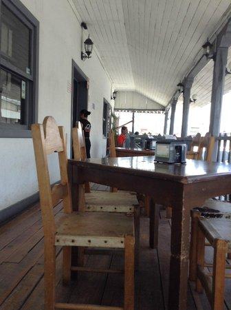 El Zaguan: terraza