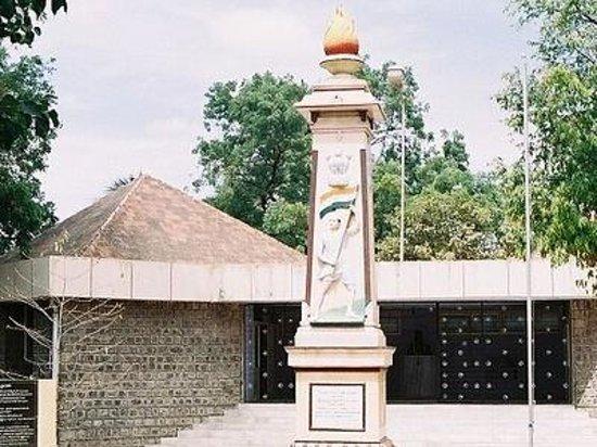 Tirupur Kumaran Memorial Statue Photo