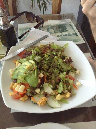 El Zaguan: ensalada del chef