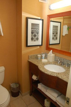 Hampton Inn Manhattan-Times Square North: nice bathroom with tub