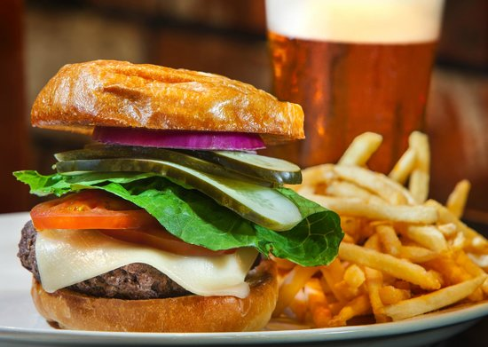 Mr. Peabody's: We are known for having the greatest burgers around!
