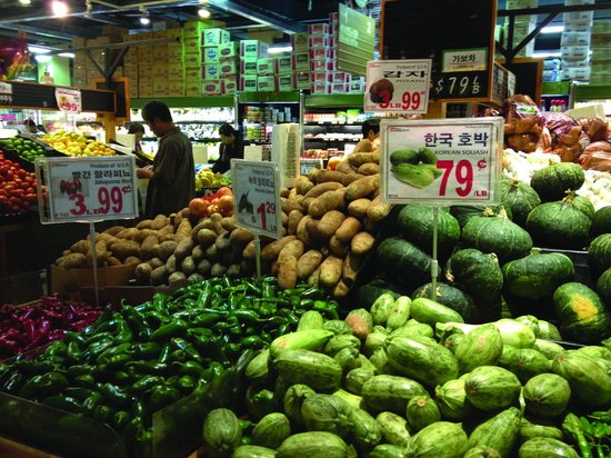 Los Angeles Urban Adventures : Korean Market