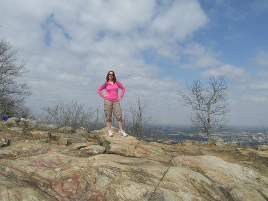 Kennesaw Mountain National Battlefield Park: On top of the mountain