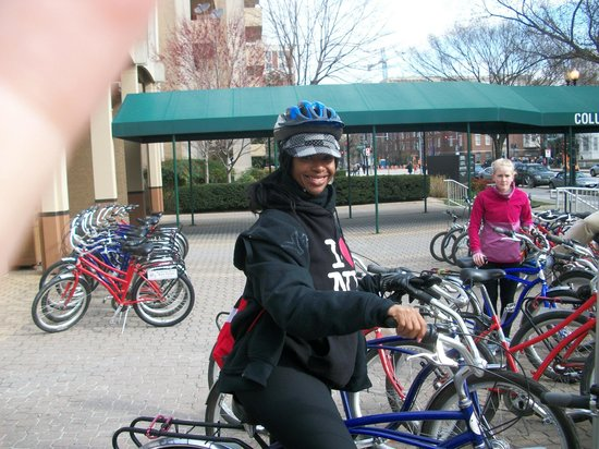 Capital City Bike Tours : Riding my bike Ricky Bobby