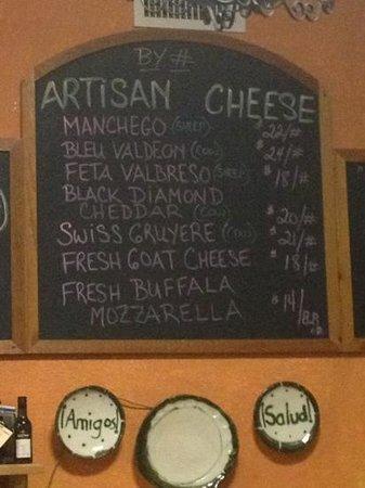 Spanish Gardens : cheese to go