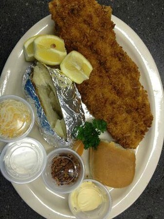 Jake's Bar and Restaurant : Fried Fish Plate
