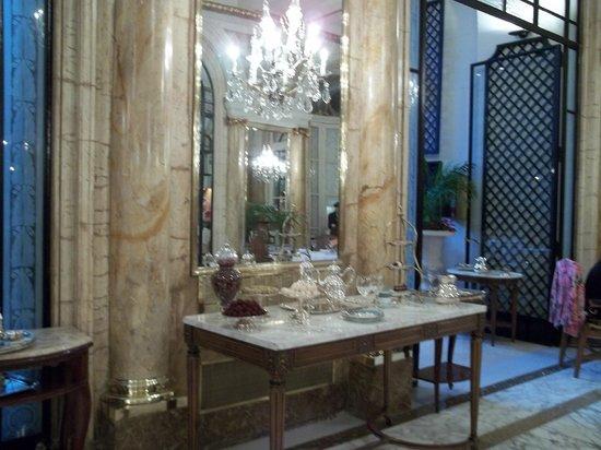 Alvear Palace Hotel: detalhes do chá da tarde