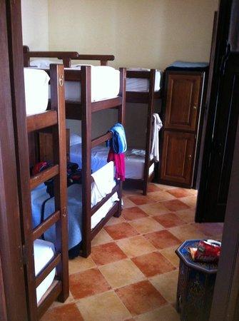 Equity Point Marrakech Hostel : Habitación de 6