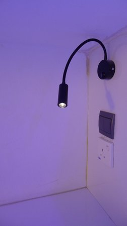 Wink Hostel: Pod lights