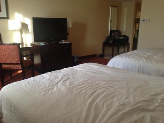 Hotel Boston: big HDTV