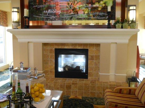 Hilton Garden Inn Fort Collins: Excelente el hogar del lobby!