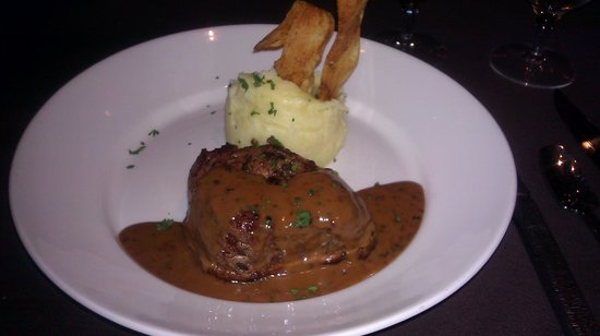 Mignon's Steaks & Seafood: Fillet from the Prix Fixe menu