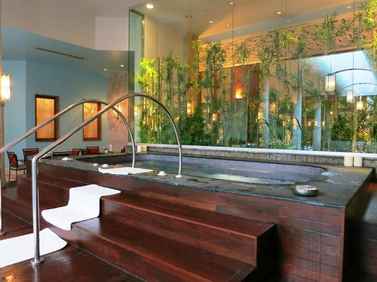 Four Seasons Istanbul at the Bosphorus: Jacuzzi in the spa