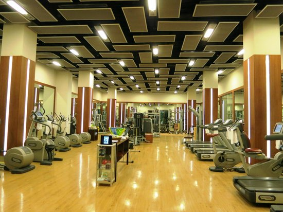 Four Seasons Istanbul at the Bosphorus: The gym - well equiped