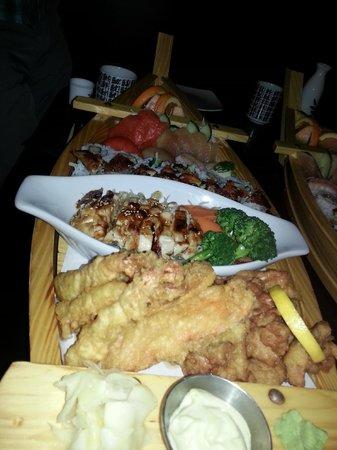 Shima Sushi: boat