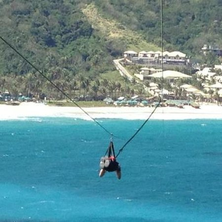 Hannah S Beach Resort And Convention Center Superman Zipline Ride