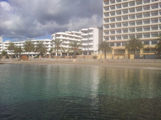Apartments Mar y Playa: vista gruppo versarhotel dalla fine della passeggiata