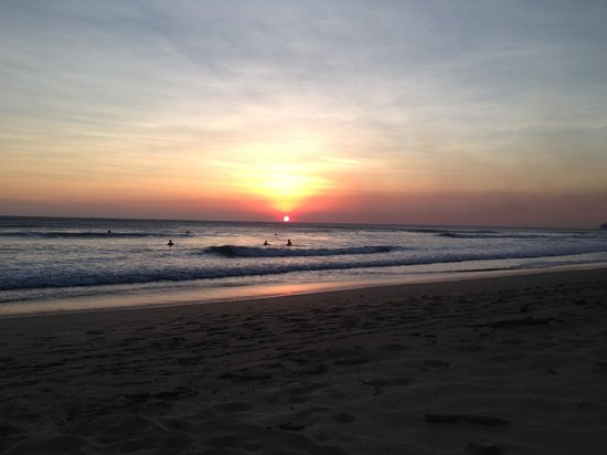 Playa Grande Park Hotel: Playa Grande sunset
