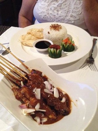Sun Island Boutique Villas & Spa: Good Chicken Satay.