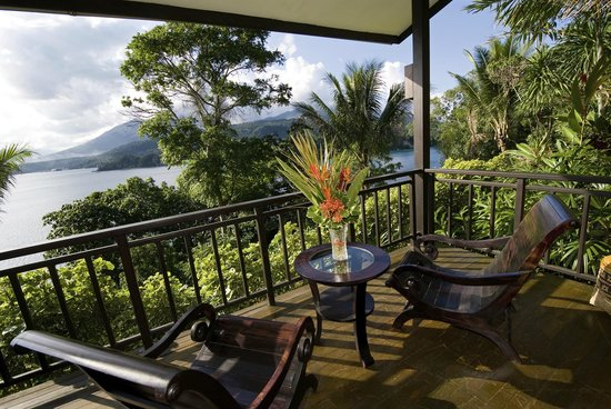 Lembeh Resort: View from Balcony, Deluxe Cottage