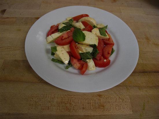 Arte Pizzeria: A Classic Italian Caprese Salad.