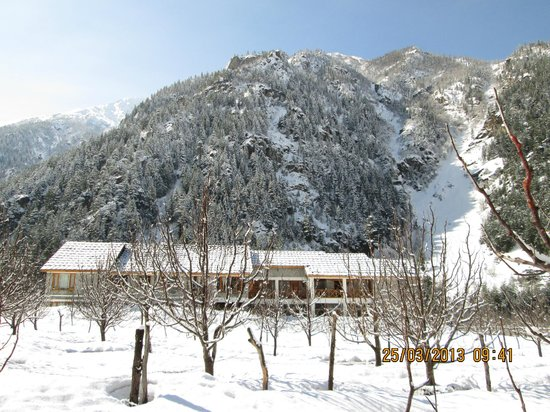 Banjara Camp &  Retreat - Sangla Valley Camp: Panaromic View of the Banjara Retreat
