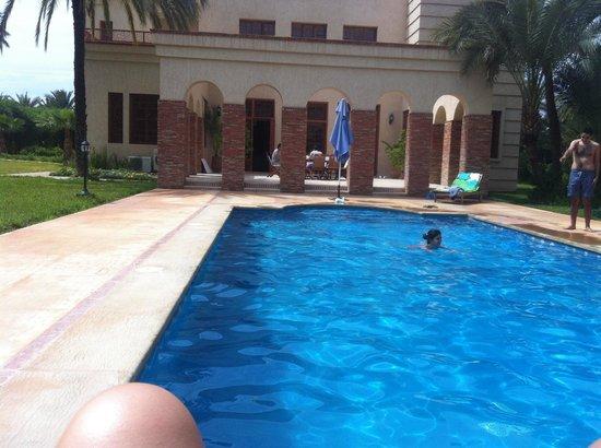 Domaine Rosaroum: The pool