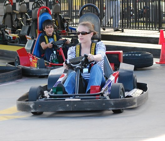 Go Kart Dallas >> Go Kart Racing At Zone Action Park Dallas Texas Picture Of Zone