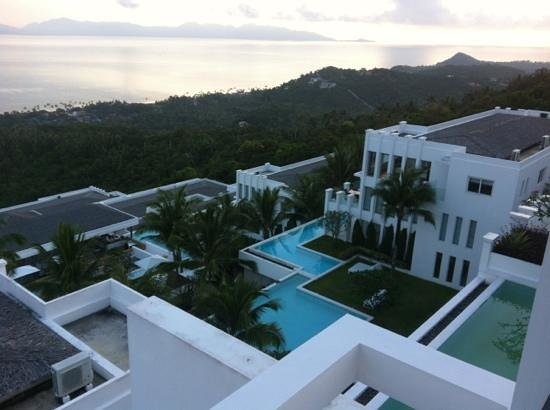 Infinity Residences & Resort Koh Samui: view from our room.