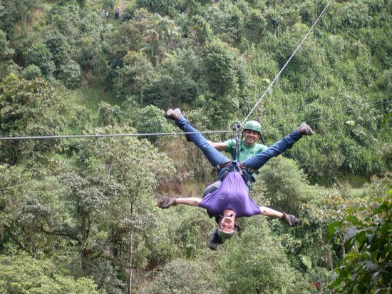 Mindo Canopy Adventure: The Butterfly