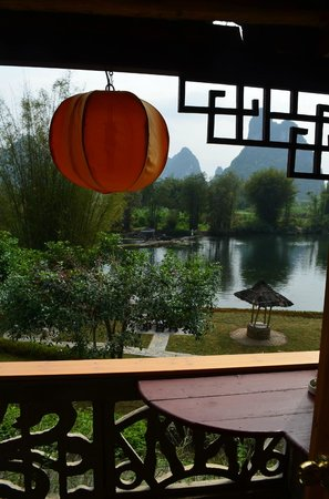 Yangshuo Mountain Retreat: View from our room