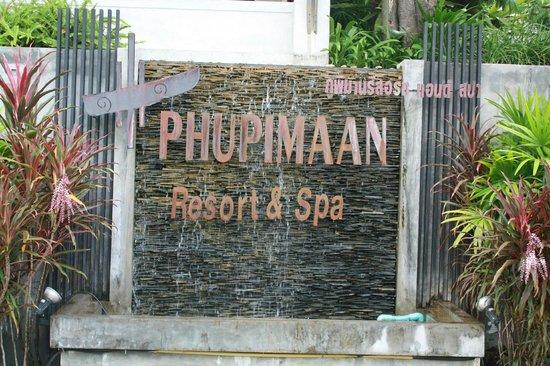 Ao Nang Phu Pi Maan Resort & Spa: The resort entrance